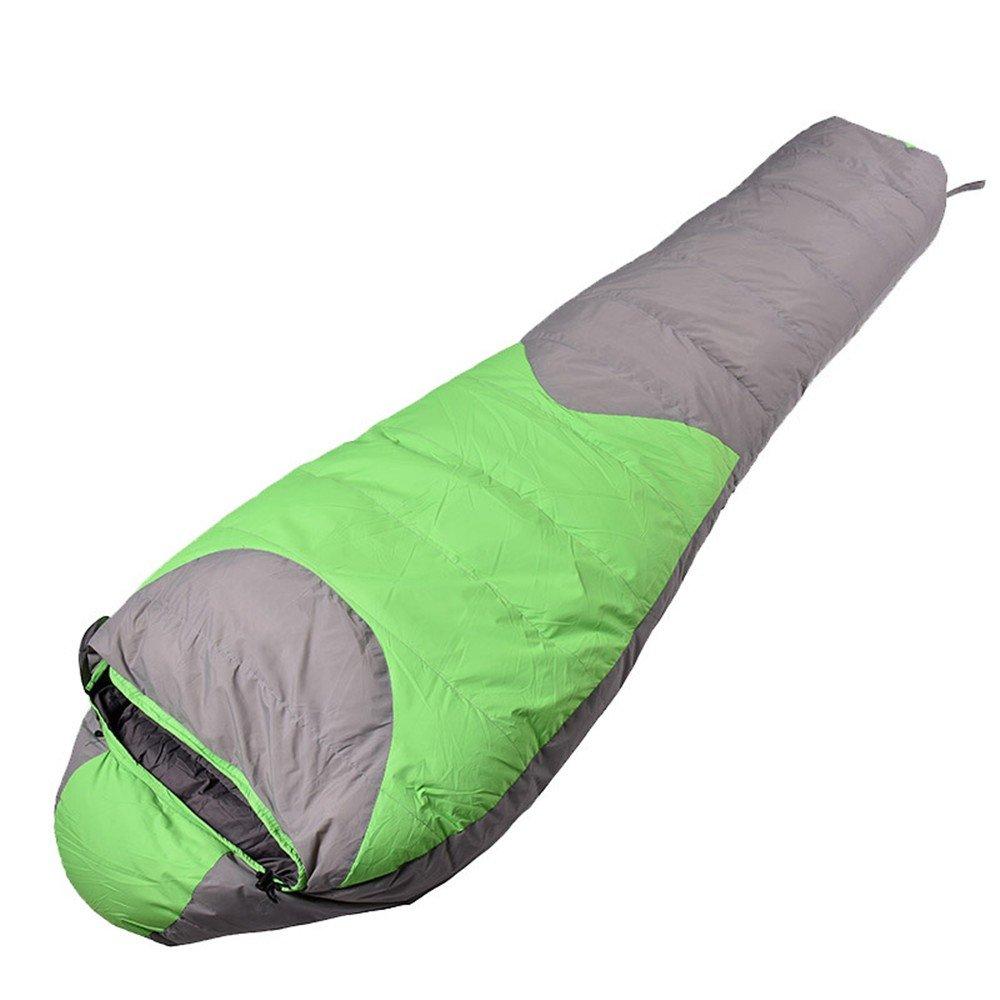 HX outdoor Schlafsack,Wasserdichte Feder auf Verdickung Outdoor - Camping Mami Zusammenfügen Schlafsack