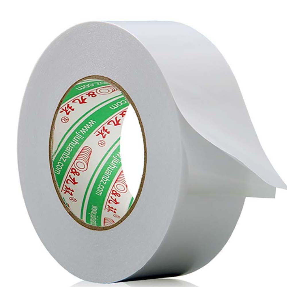 Premium Indoor Outdoor Carpet Tape-Double Sided Tape, zggzerg® Removable Carpet /Heavy Duty,Leaves No Residue,Mat, Rug Cloth Tape ,White 2 inch x 30yard zggzerg® Removable Carpet /Heavy Duty