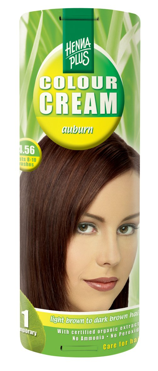 Hennaplus Colour Cream Auburn 4.56 - 60 ml