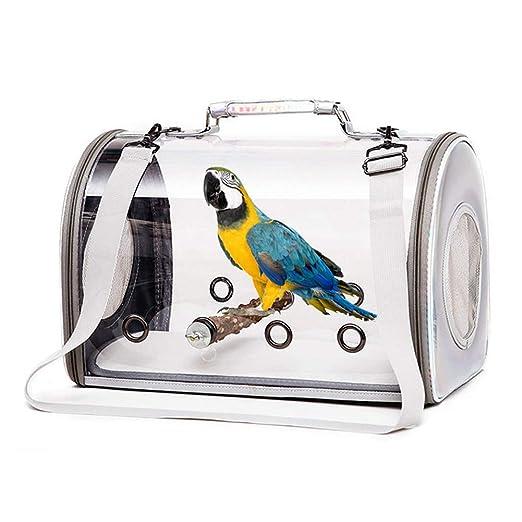 Bolso Bandolera para Mascotas, Bolso de Mano para Jaula de Pájaros ...