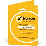 Norton Security Basic 2018 | 1 Device | 1 year | Antivirus included | PC | Download