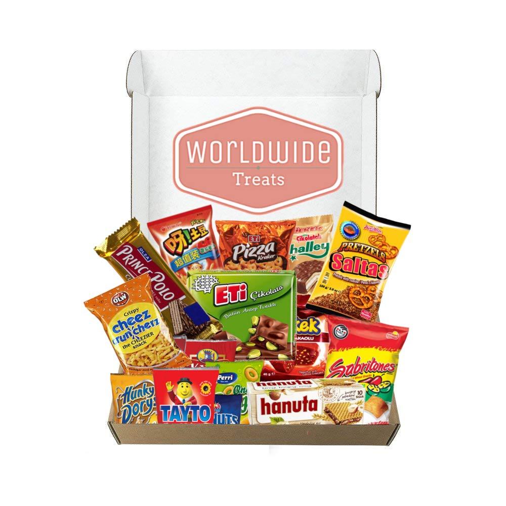World Wide Snack Mix Package by WorldwideTreats by Worldwide Treats