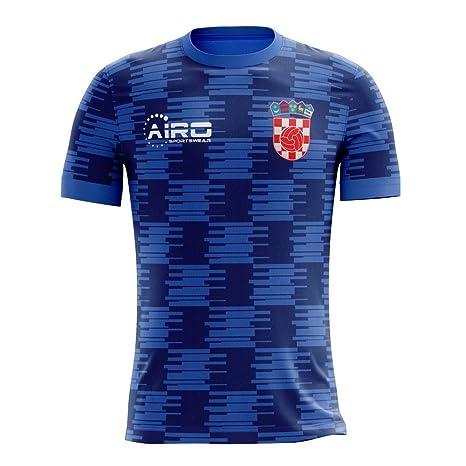 124c1293 Airo Sportswear 2018-19 Brazil Away Concept Football Soccer T-Shirt Trikot  /(Pele 10/) - Kids