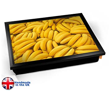 Banana Food Cushion Lap Tray Cojín Bandeja de Regazo: Amazon.es: Informática