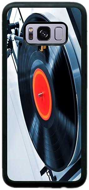 Vinyl Record On Turntable Rikki Knight Compact Mirror