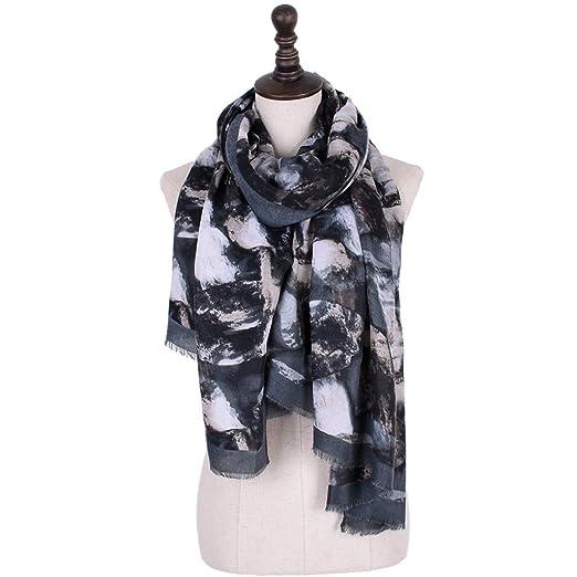 955b1178ca907 Pandaie Womens Scarves, Print Colorful Ladies Shawl Fashion Maxi Scarf Wrap Long  Tassel Soft Scarf at Amazon Women's Clothing store: