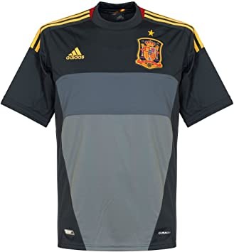 adidas Camiseta Portero España Gris: Amazon.es: Deportes y aire libre