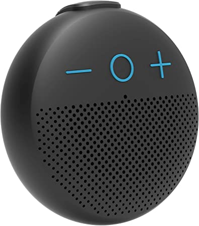 FIODIO Portable 5.0 Bluetooth Speaker Stereo, Waterproof Louder Volume Wireless Range Outdoor Speakers for Home Party Music Black