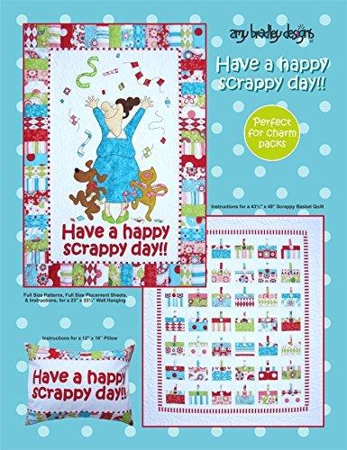 Amy Bradley Designs ABD251 Have a Happy Scrappy Day Quilt Pattern by Amy Bradley Designs