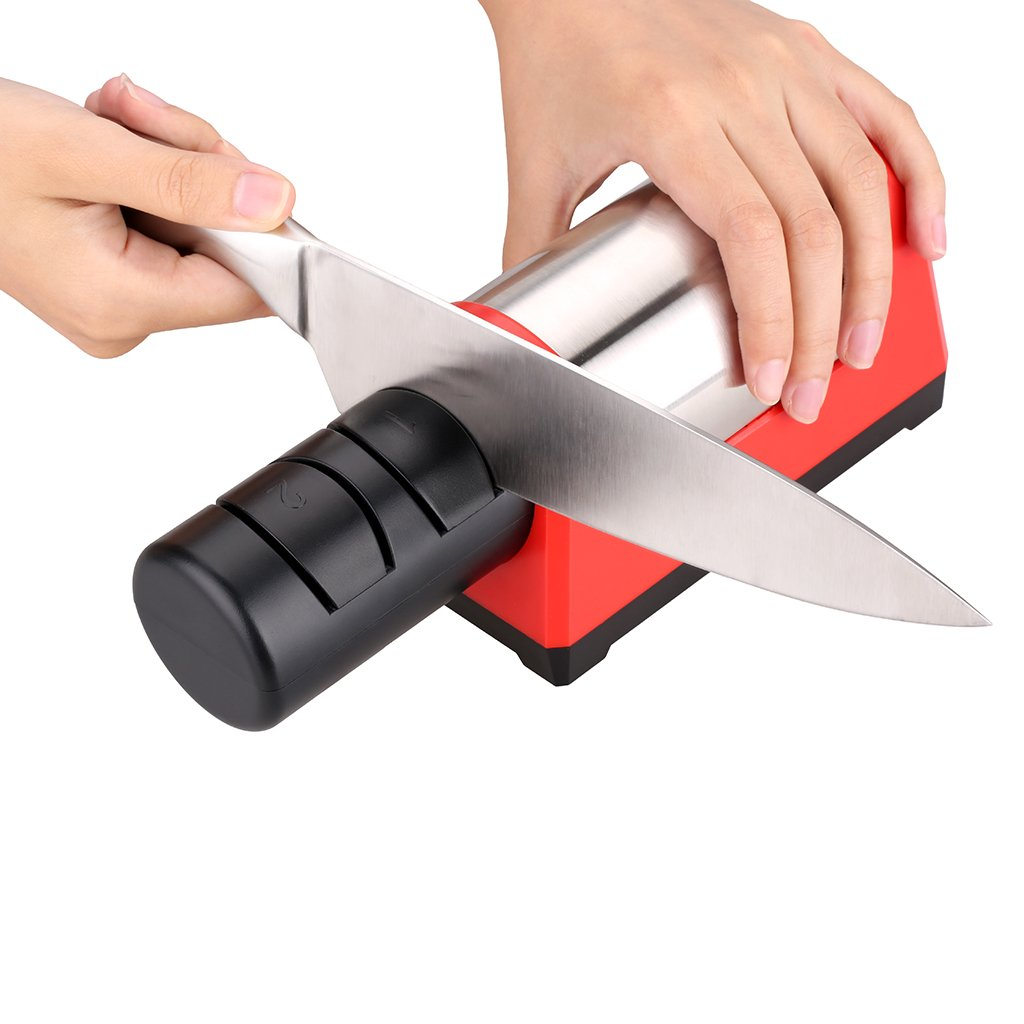 Amazon.de: TAIDEA Elektrisch Messerschleifer Messerschärfer 18W ...