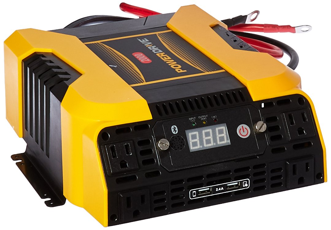 4. PowerDrive PD2000 2000W Power with Bluetooth Inverter