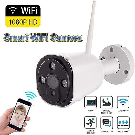 1080P WiFi Kamera Sicherheit CCTV Überwachungskamera IR Nachtsicht Wasserdichte