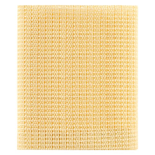 SoftTouch 4780299N Mat Indoor Non-Slip Washable Area Rug Pad-Use on All Floors to Prevent Injury-Trim to fit Any Size-2' x 3', Cream