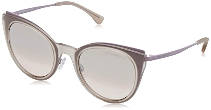Amazon.com: emporio armani EA 2063 mate color rosa y café ...