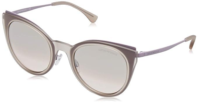Emporio Armani 0EA2063 Gafas de sol, Matte Pink/Violet, 52 ...