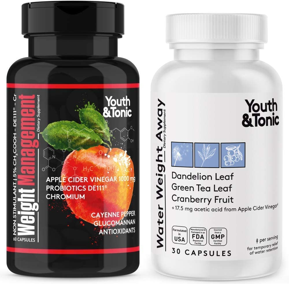 Water Loss & Appetite Control Supplement for Women at Period | Pills to Ease Cravings Hunger & Relief Swelling & Belly Bloat Reducing Waist Line | Help Preventing Hormonal Weight Gain & Feel Lighter