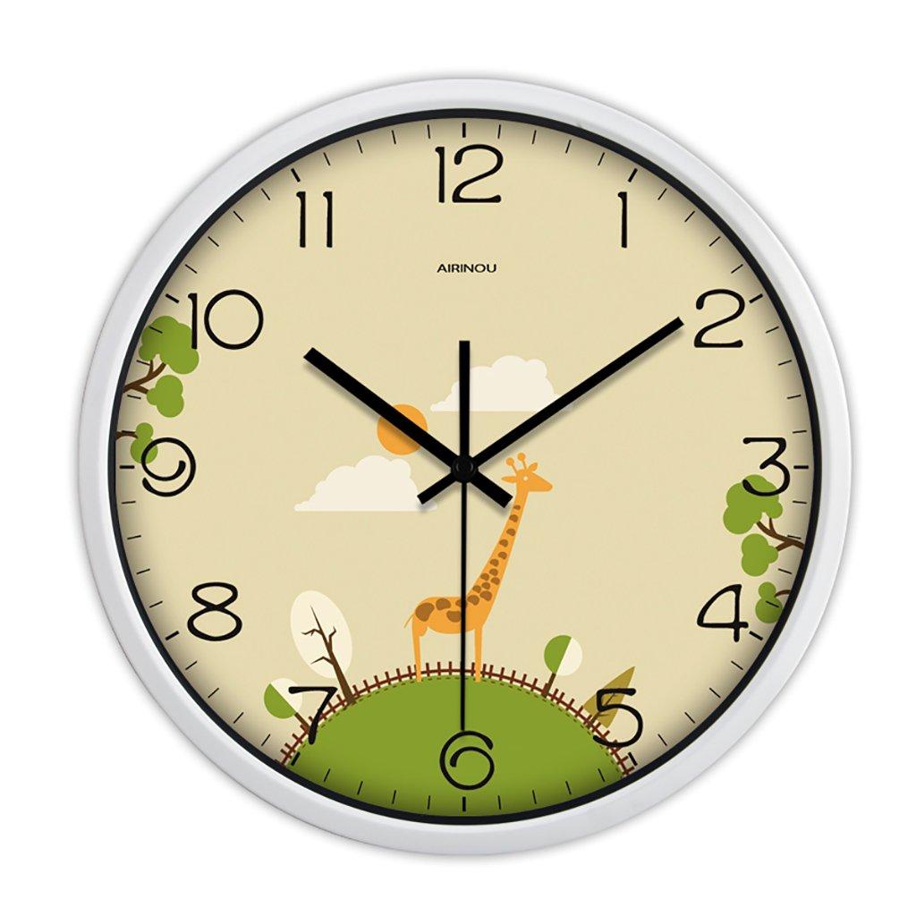 リビングルームクリエイティブ現代の時計クォーツ時計のベッドラウンドパーソナリティシンプルな静かなウォールクロック (色 : 1, サイズ さいず : 10in) B07FPZY9HY 10in|1 1 10in