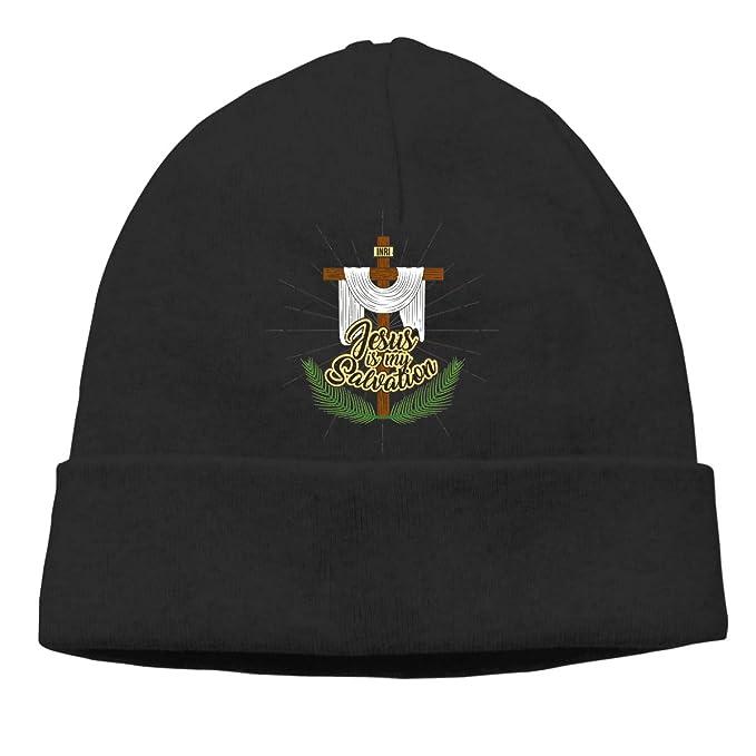Salvation Cross Mens Beanie Cap Skull Cap Winter Warm Knitting Hats.