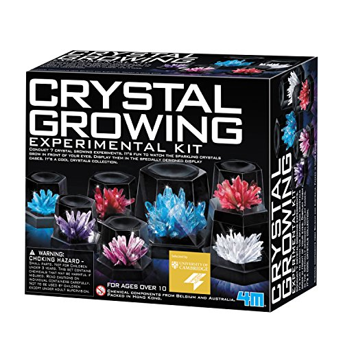 Experimento de cultivo de cristales 4M
