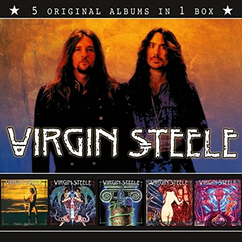 CD : Virgin Steele - 5 Original Albums (Boxed Set, 5 Disc)