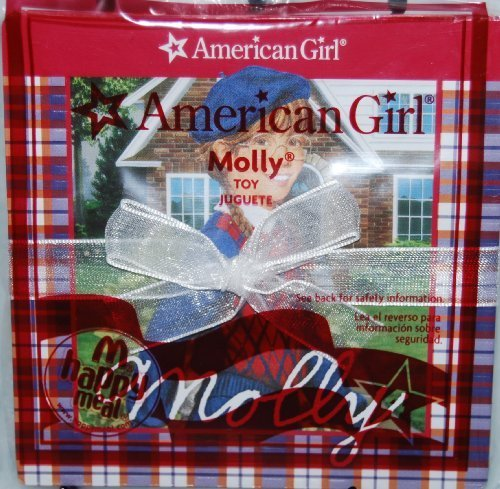 McDonalds Happy Meal 2009 American Girl Book - Molly