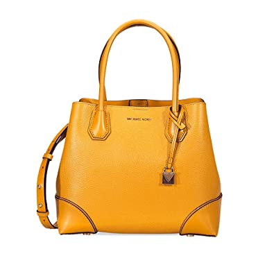 b7688b3d212e Amazon.com: Michael Kors Mercer Medium Leather Satchel: Shoes