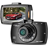 NEW ドライブレコーダー 車載カメラ ドラレコ 2.2インチ 1080PフルHD 300万画素 ビデオカメラ 100度広角 Gセンサー 循環ループ録画 小型 防犯
