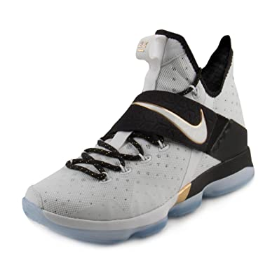 Amazon.com | Nike Mens Lebron 14 XIV BHM Black History Month 2017  Basketball shoes 860634-100 | Basketball