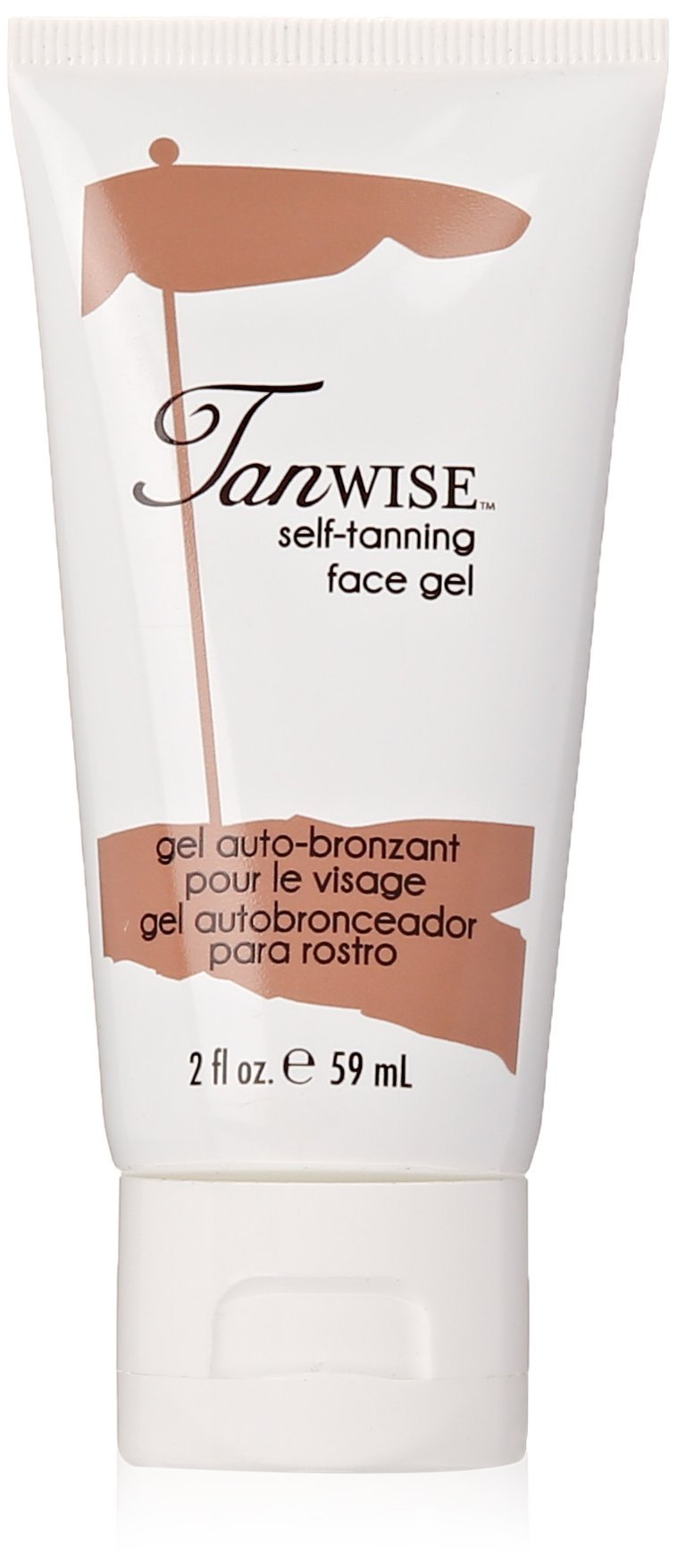 Tanwise Self-Tanning Face Gel, 2 Fluid ounce