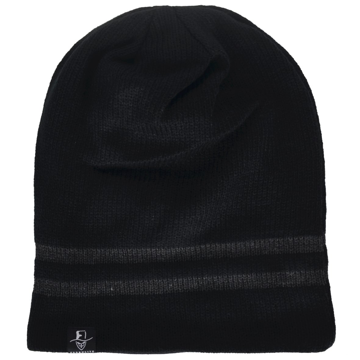 VECRY Mens Slouchy Beanie Knit Skull Cap Long Baggy Hip-hop Winter Summer Hat B305