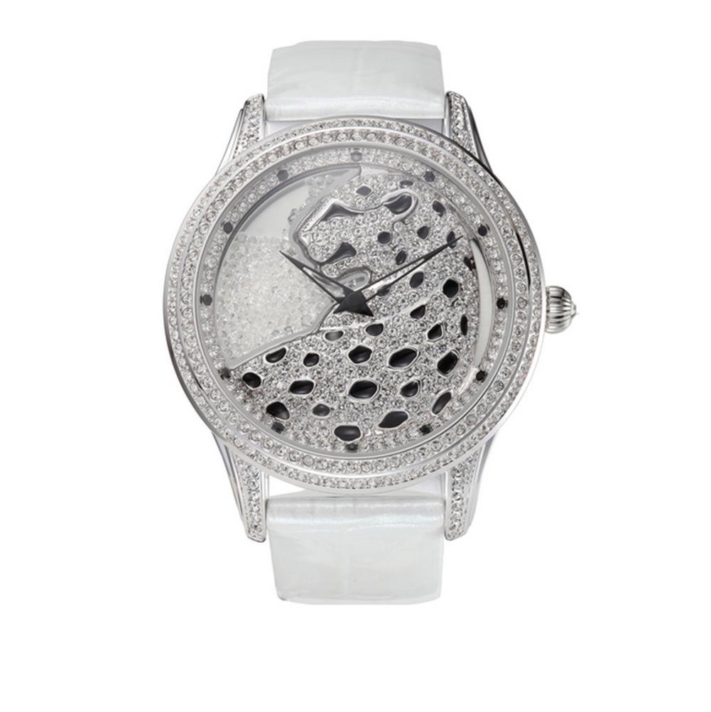 Mode-Damen-Diamant-Quarz-Uhr