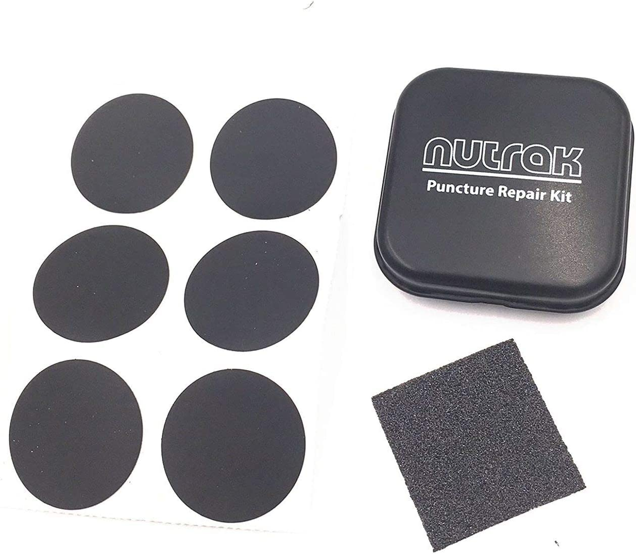 Nutrak Puncture Repair Patches Truflo Micro CO2 Tyre Inflator