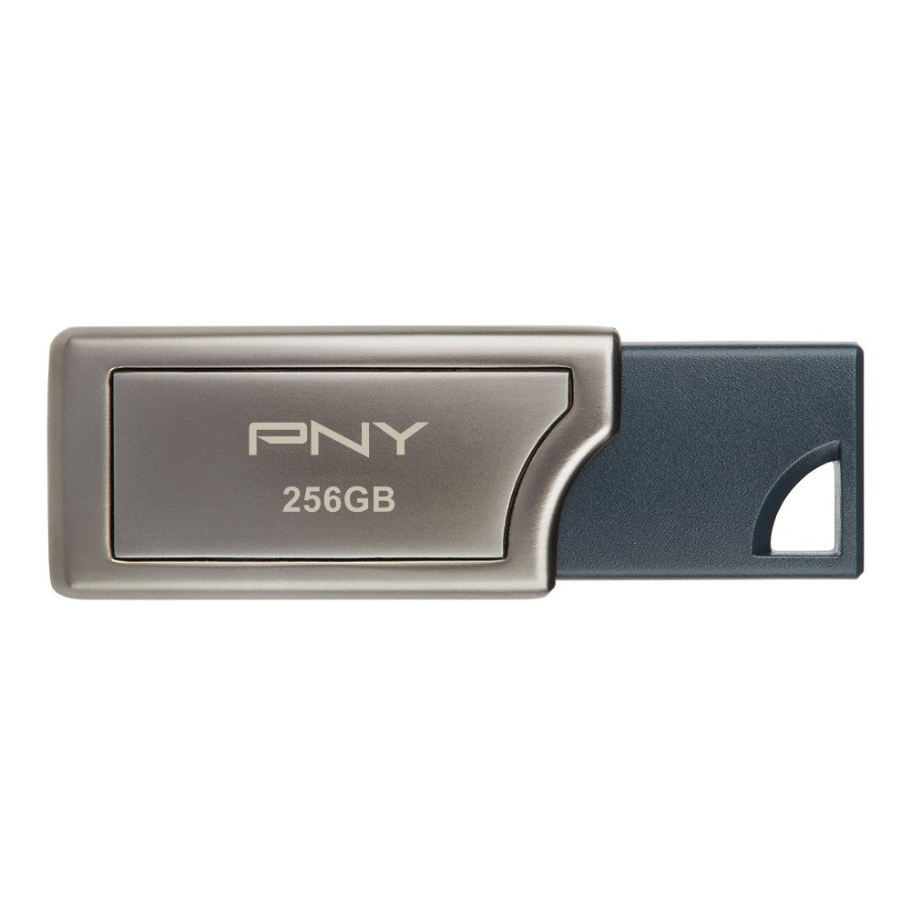 PNY Pro Elite 256GB USB 3.0 Flash Drive, Read Speeds up to 400MB/S (P-FD256PRO-GE)
