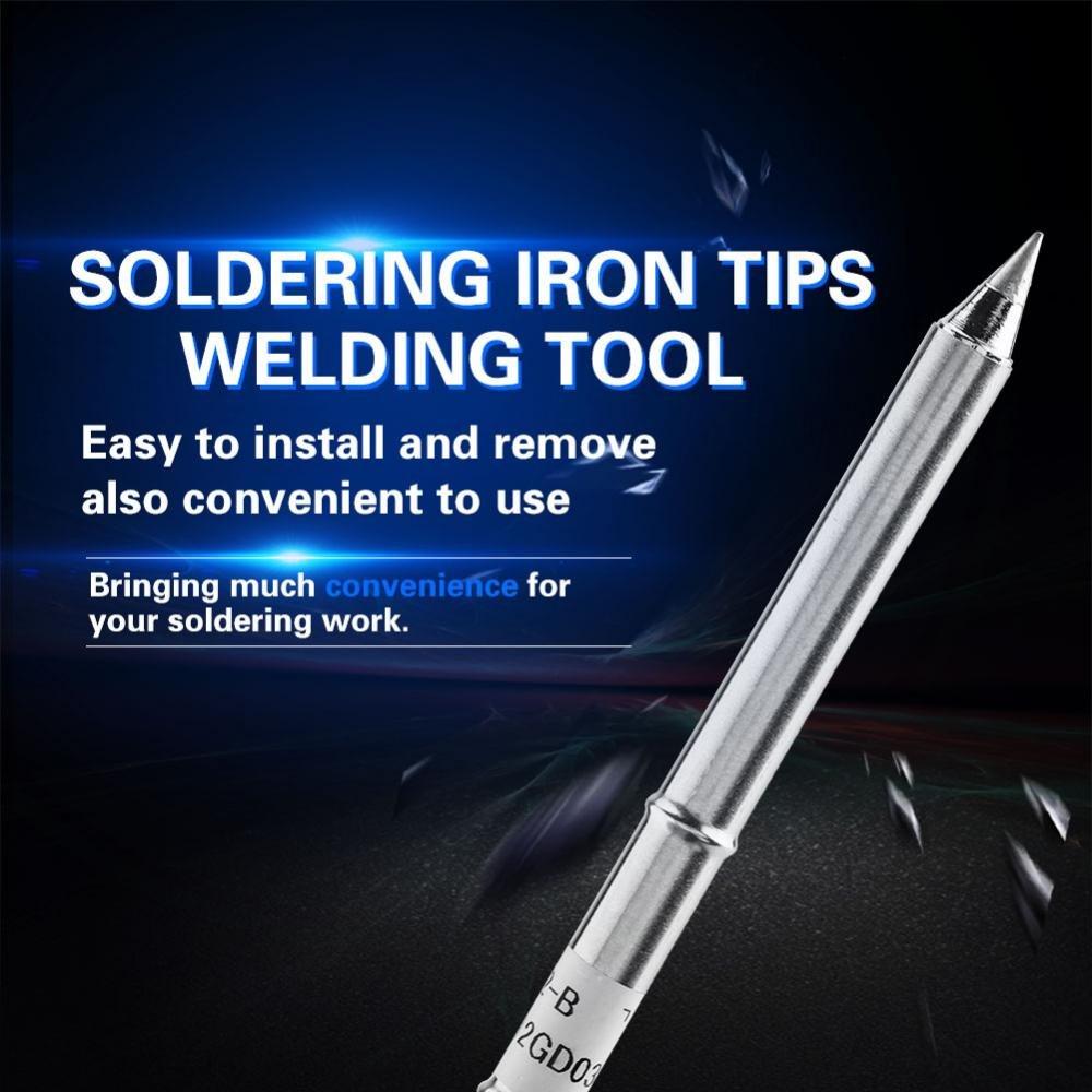 Soldering Fx-951 Soldering Oxygen-Free CopperOxygen-Free Copper Replacement Soldering Iron Tip T12-I Soldering Iron Tip
