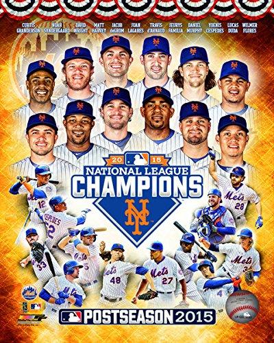 New York Mets 2015 NLCS Team Composite Photo (8