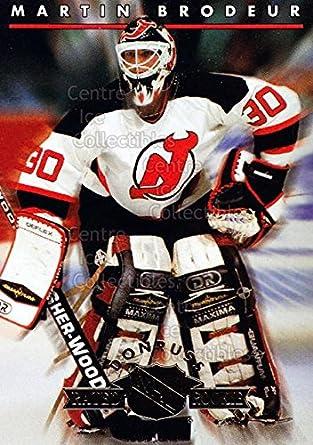 Amazon Com Ci Martin Brodeur Hockey Card 1993 94 Donruss Rated