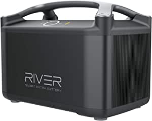 EF ECOFLOW RIVER Pro Extra Battery 720Wh, Expandable Power for RIVER Pro, for Camping, Home Backup Emergency, Outdoors, RV, Off-Grid