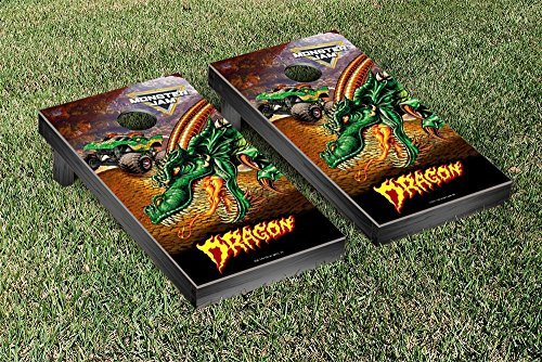 Monster Jam Dragon Creature Version Cornhole Game Set [並行輸入品] B072Z7FPFC
