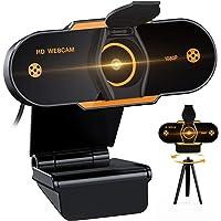 (2021 Nuevo modelo) Cheelom Video Cámara Web1080P Trípode Full HD USB,Webcam de Conferencia USB Ajustable con Micrófono…