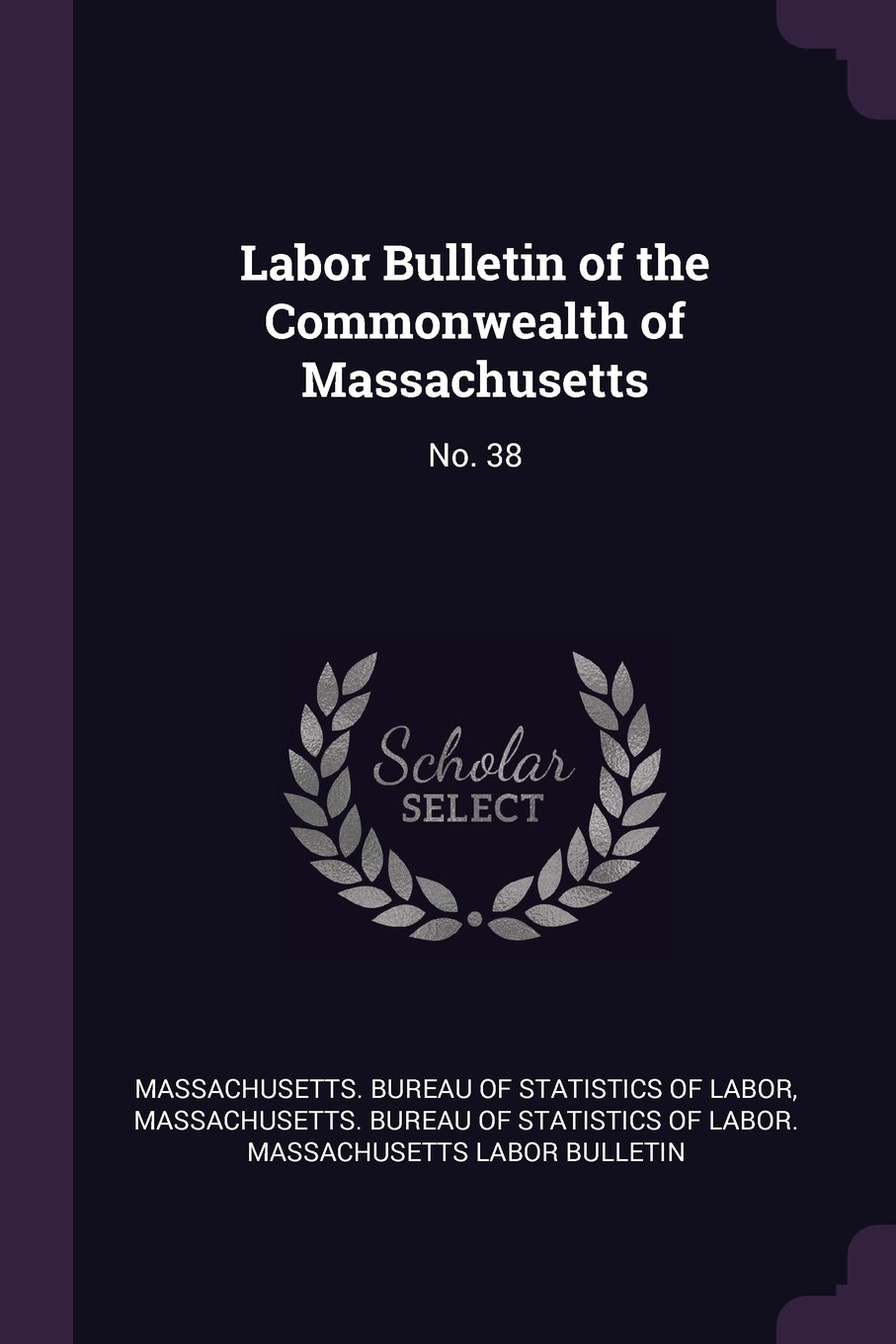 Download Labor Bulletin of the Commonwealth of Massachusetts: No. 38 pdf