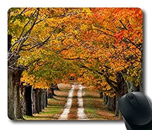 Design Mouse Pad Desktop Laptop Mousepads Beautiful Country Road Comfortable Office Mouse Pad Mat Cute Gaming Mouse Pad by runtopwell