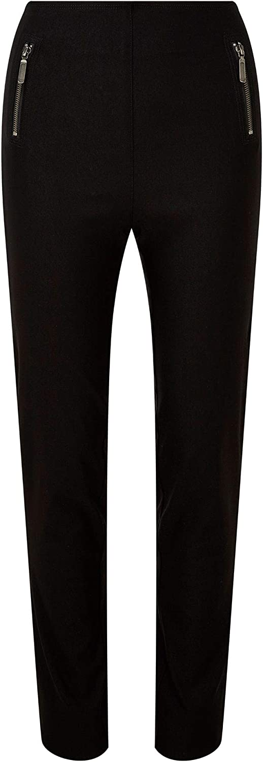 Cotton Traders Womens Super Stretchy Pull-On Trousers 27 Inch Length