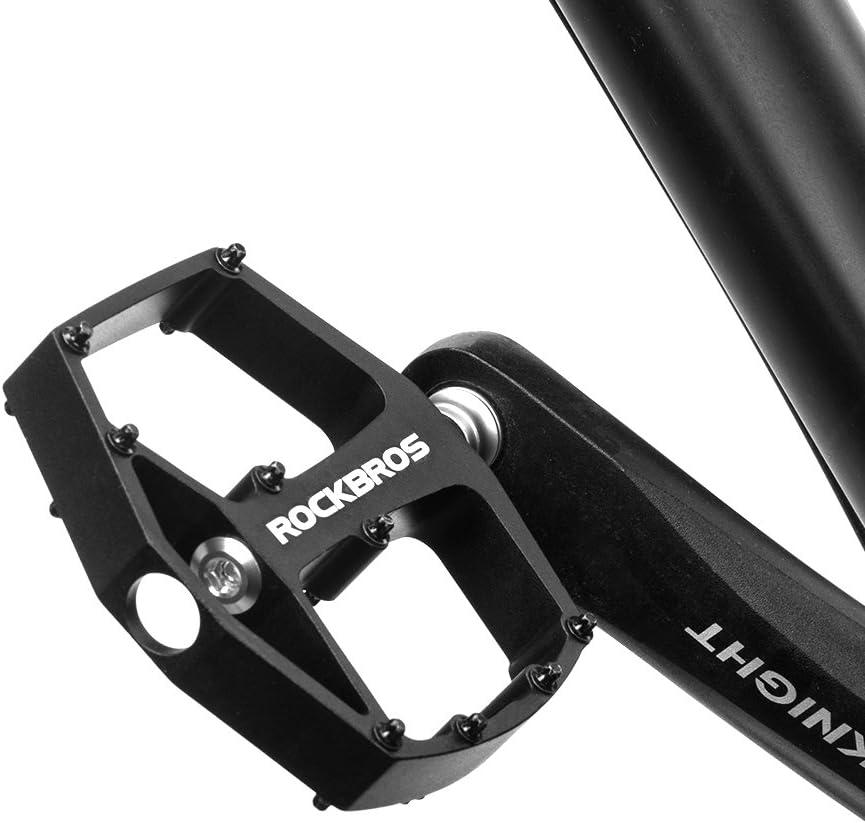 Nouveau ROCKBROS Mountain Road Bike Bicycle Bearing Pédales Large Nylon Pédales une paire