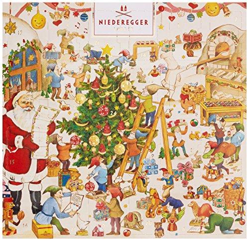 Niederegger Adventskalender Mini Klassiker, 1er Pack (1 x 168 g)