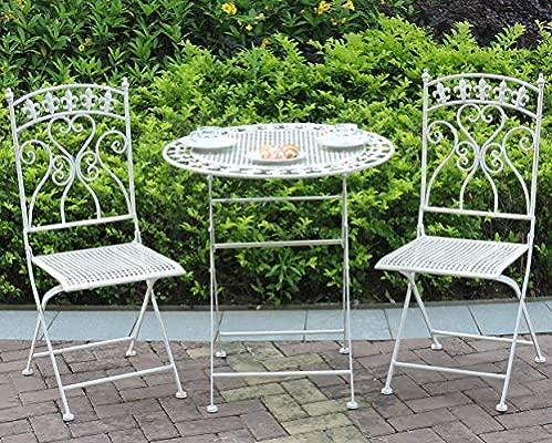 GlamHaus Garden Bistro Patio - Juego de Muebles de jardín de ...