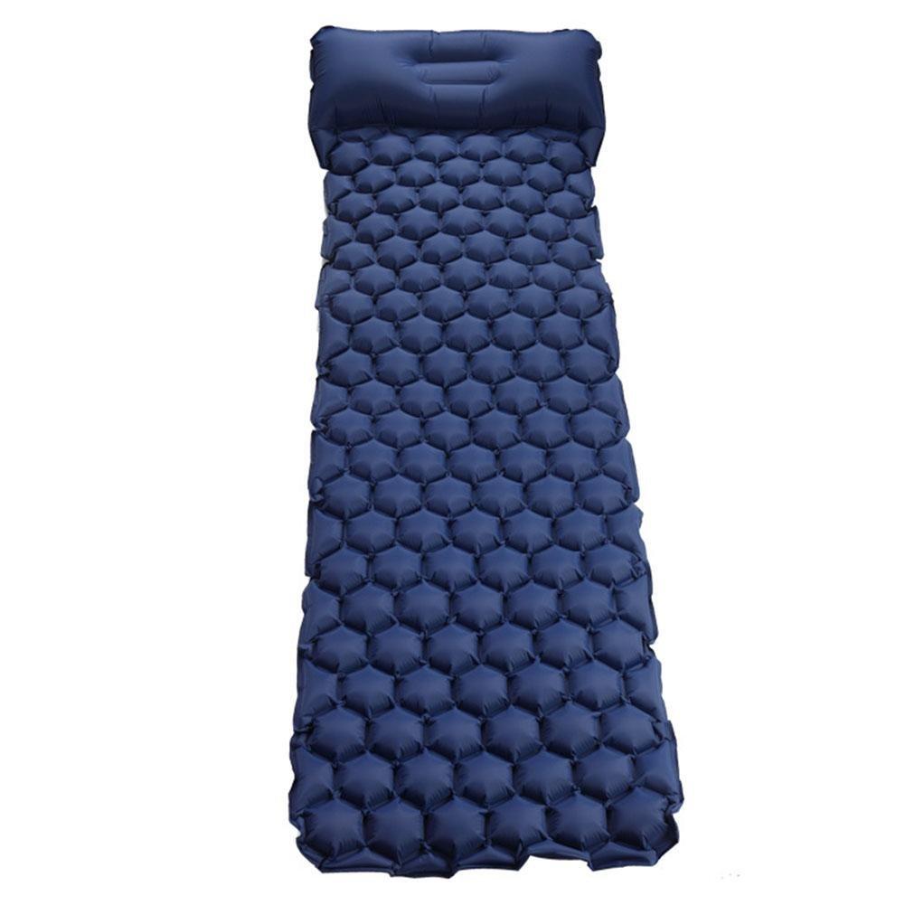 Super Light automatische aufblasbare Matte Outdoor Zelt Schlafmatte Camping selbst Stanzen Einzel Kissen und trage Kissen aufblasbare Matte