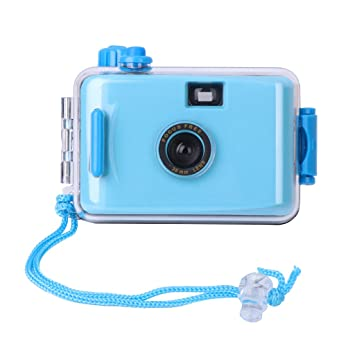 Runrain - Mini cámara Lomo Sumergible con Carcasa (35 mm ...