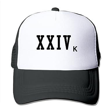 bfc7df9a3ea18 Bruno Mars 24K Magic New Album Baseball Caps Trucker Hats Snapbacks   Amazon.co.uk  Clothing