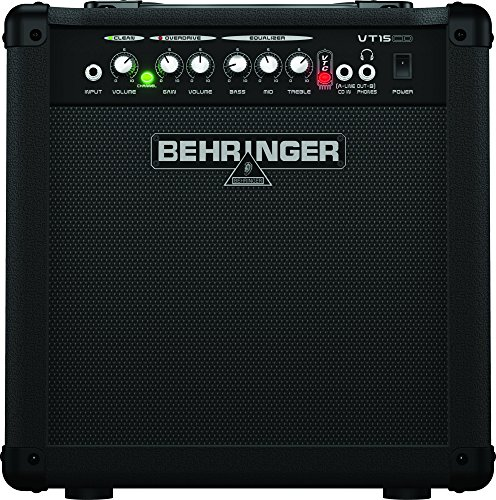 Behringer Virtube Vt15cd 15-Watt Guitar Amplifier With 2 Independent Channels, Vtc Tube Modeling And Original Bugera 8'' Speaker by Behringer