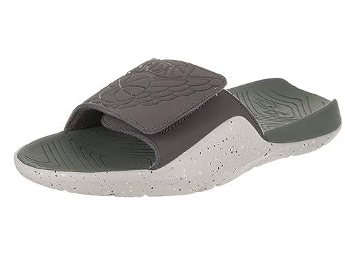 ea60bae93ccc6 Jordan Nike Men s Hydro 7 Dark Grey Dark Grey Clay Green Sandal 8 Men US
